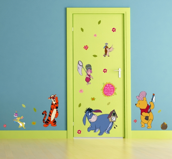 Kinderzimmer Wandsticker C Disney Winnie Pooh Wandtattoos Aufkleber Shop